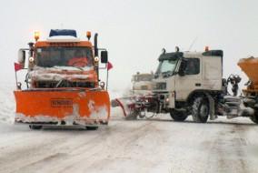 Autoritatile judetului Buzau au permis, duminica, in jurul orei 14:30, la insistentele soferilor, deplasarea unor coloane organizate pe drumul european E85 pe ruta Buzau-Rimnicu Sarat si retur.